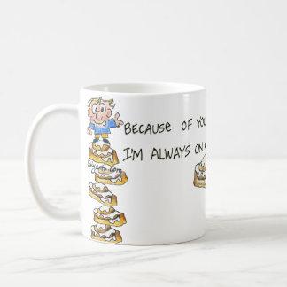 Dad is my ROLL model - Funny Coffee Mug