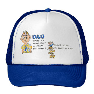 Dad is my ROLL model - Funny Hat
