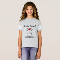 Dad is My Valentine T-Shirt