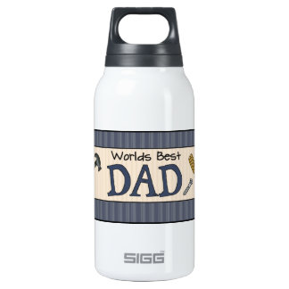Dad Is The Best Insulated Water Bottle