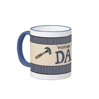 Dad Is The Best Ringer Mug