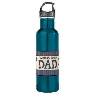 Dad Is The Best Stainless Steel Water Bottle