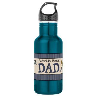 Dad Is The Best Water Bottle