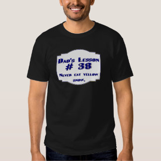 Dad-isms on t-shirts and gifts for dads.