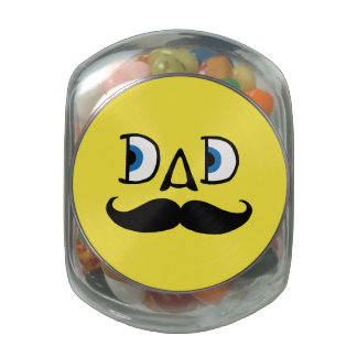 Dad Jelly Belly Candy Jars
