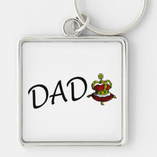 Dad (King) Key Chain