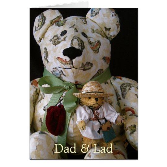 Dad & Lad Card