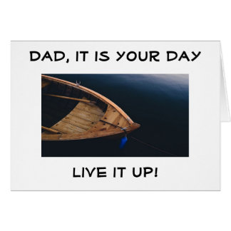 **DAD** LIVE IT UP AND ENJOY YOUR BIRTHDAY CARD