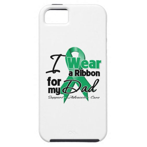 Dad - Liver Cancer Ribbon.png iPhone 5 Case