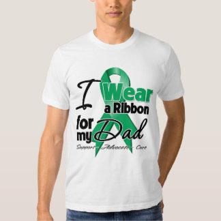 Dad - Liver Cancer Ribbon.png T-shirts