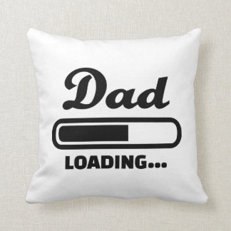 Dad loading Baby Throw Pillows