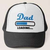 Dad loading trucker hat