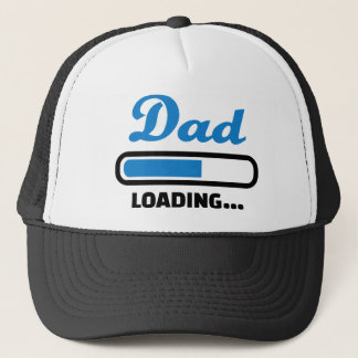 Dad loading trucker hat