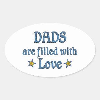 Dad Love Sticker