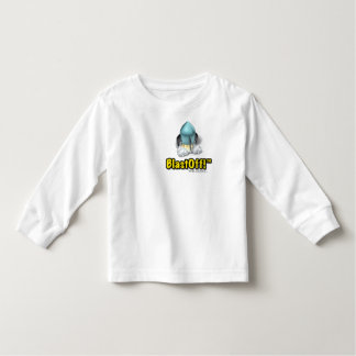 Dad Made BlastOff! Bed Toddler Long Sleeve Shirts
