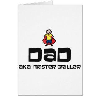 Dad, Master Griller Card