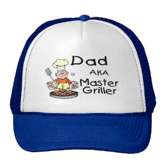 Dad Master Griller Trucker Hat