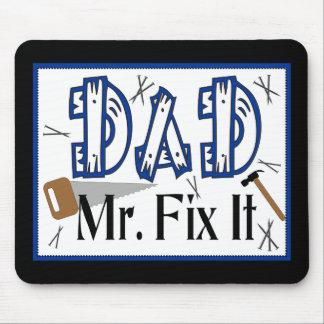 Dad Mr Fix It Mousepad