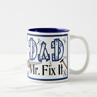 Dad Mr Fix It Mug