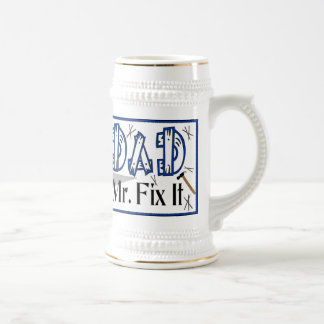 Dad Mr Fix It Stein Mug
