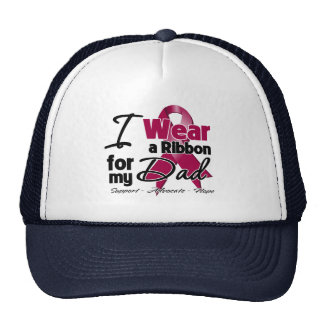 Dad - Multiple Myeloma Ribbon Trucker Hat