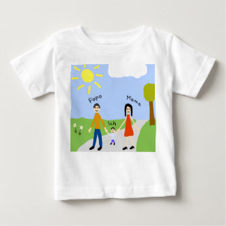 Dad mummy and I Baby T-Shirt