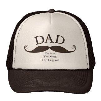 Dad Mustache Hat