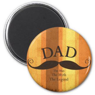 Dad Mustache Magnet
