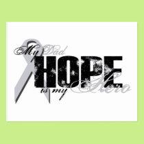 Dad My Hero - Lung Hope Postcard