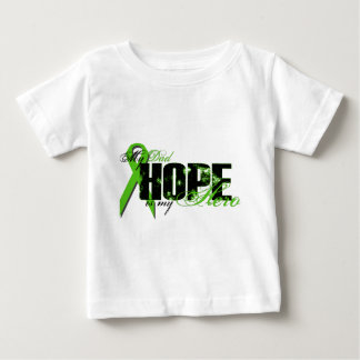 Dad My Hero - Lymphoma Hope Baby T-Shirt