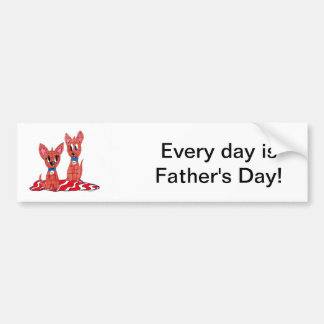 Dad n Me Car Bumper Sticker