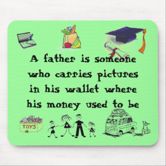 dad no money mouse pad
