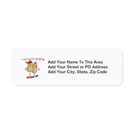 Dad - Nuts About My Daughter T-shirts and Gifts Label