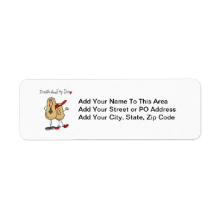 Dad - Nuts About My Son T-shirts and GiftsD Return Address Label