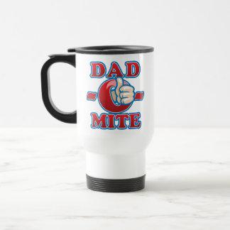 Dad-O-Mite 15 Oz Stainless Steel Travel Mug