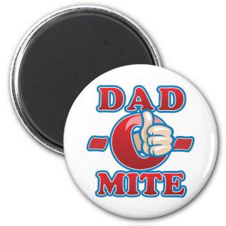 Dad-O-Mite 2 Inch Round Magnet