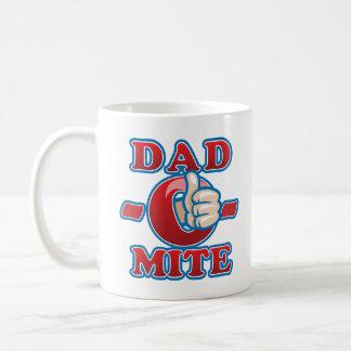 Dad-O-Mite Classic White Coffee Mug