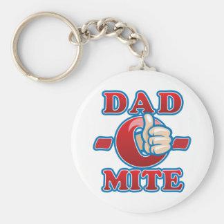Dad-O-Mite Keychain