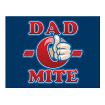 Dad-O-Mite Postcard