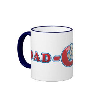 Dad-O-Mite Ringer Coffee Mug