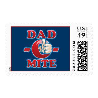 Dad-O-Mite Stamp