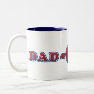 Dad-O-Mite Two-Tone Coffee Mug
