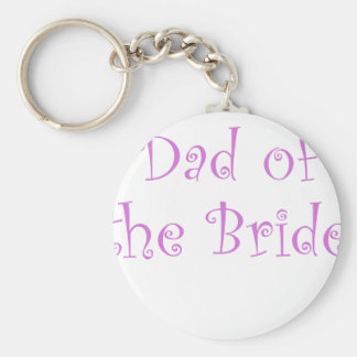 Dad of the Bride Keychain