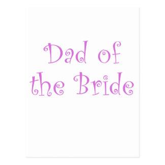 Dad of the Bride Postcards