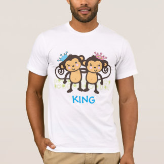 Dad of Twin Monkeys T-Shirt