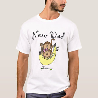 Dad of Twins Boy and Girl Tshirts and Gifts