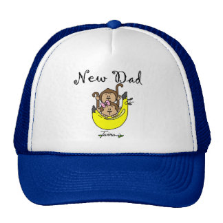 Dad of Twins Boy and Girl Tshirts and Gifts Trucker Hat