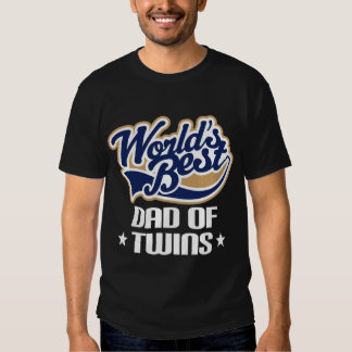 Dad Of Twins Father's Day Tee