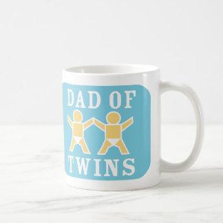 Dad Of Twins Mug Basic White Mug