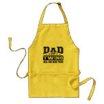 Dad Of Twins Real Man Make Twins Apron